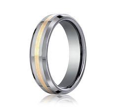 Benchmark 6mm Tungsten Wedding Band www.sartorhamann.com