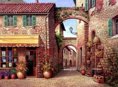 easy street scenes paint - Yahoo Image Search results