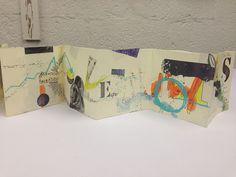 a litle story begins here - an artist book -by Ellen Ribbe (Frau Bob) via Flickr