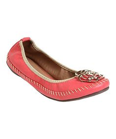 Another great find on #zulily! Red Jenny Ballet Flat #zulilyfinds