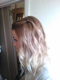 My new blonde ombre :)