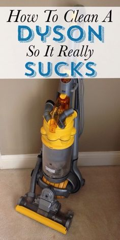 Is your vacuum not cleaning as well as it used to? Find our how to clean a Dyson so it really sucks.