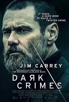 Jim Carrey plays an excellent detective in Dark Crimes in this very dark thriller. If you like dark crime novels, you will surely enjoy it here. Jim Carrey, 2018 Movies, Hd Movies, Movies Online, Indie Movies, Funny Movies, Action Movies, Movie 20, Film Movie