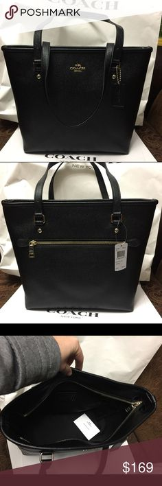 Coach Bag 100% Authentic Coach Tote Bag, brand new with tag!color Black. Coach Bags Totes