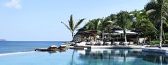 Christopher Saint Barth: The huge freshwater infinity pool (St. Barth's largest) is at the heart of the property.