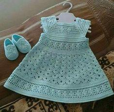 Crochet Gemstone Lace Toddler