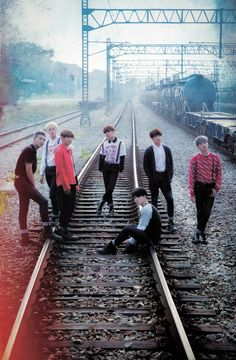"Japanese 2nd Album ""YOUTH"" Group Photo (7/9/16 realease date) ❤ #BTS #방탄소년단"