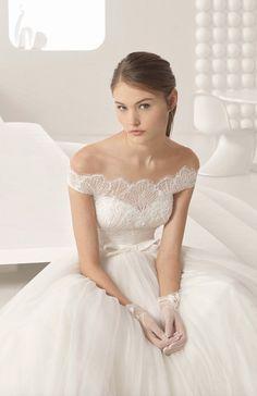 Courtesy of Rosa Clara wedding dresses; www.rosaclara.es #weddingdress