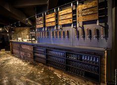 빈티지 인테리어 디자인 설계 / 펍 레스토랑빈티지 인테리어디자인의 펍 레스토랑 인테리어에요 부산에 위...