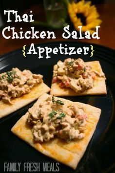 Super yummy #Thai #Chicken #Appetizer all my guests LOVED