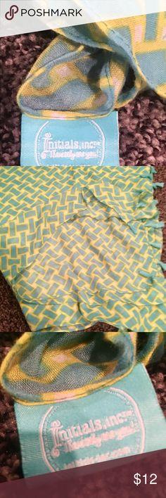Initials Inc. It's A Wrap! Initials Inc. It Initials Inc. Accessories Scarves & Wraps