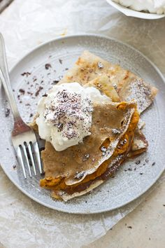 Savor Fall's Flavors in This Pumpkin and Chocolate Crepe Recipe