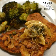 Chicken Piccata is a dinner staple in our house for a number of reasons. It uses ingredients that we always have on hand, it is fairly easy to make, it only uses one pan, and piccata is a FUN word ...