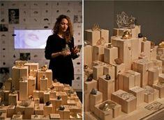 Skyline-Inspired Jewelry Displays : Merchandising Display
