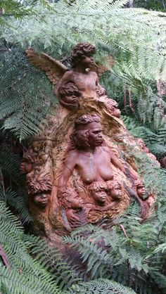 Mount Dandenong, Australia William Ricketts Sanctuary A collection of outdoor mystical statues paying homage to Aborigines and ecological stewardship.
