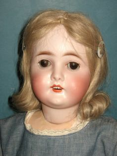 """Antique 24""""~QUEEN LOUISE~Armand Marseille~Bisque Socket Head Doll~Jointed Body"""