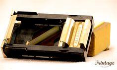 Máquina de afiar lâminas - Allegro Mod. L, anos 40/50