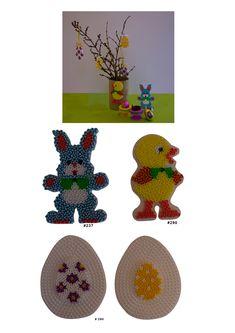 Easter Hama perler patterns