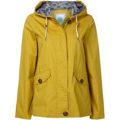 White Stuff Jitter Short Mac ($125) ❤ liked on Polyvore featuring outerwear, coats, women, yellow, short coat, oversized coat, yellow coat, short white coat y white coat