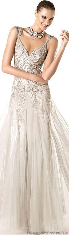 Pronovias Cocktail Collection 2014 (if you like this, follow my beautiful gowns & dresses board)