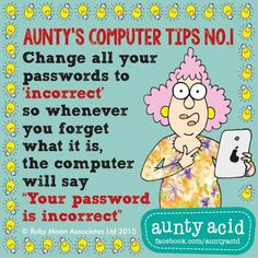 Thanks for the reminder! Sarcastic Quotes, Funny Quotes, Funny Humor, Funny Pics, Hilarious, Computer Jokes, Computer Tips, Auntie Quotes, Aunt Acid