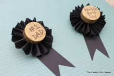 crafts ideas for fathers day | ... attach these to a gift bag for Father's Day or let this be the gift