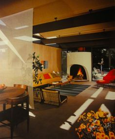 Lovely mid-century interior