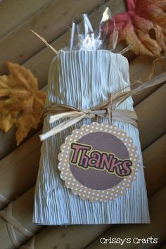 How-To: Turn a TP Roll into a Thanksgiving Goody Bag