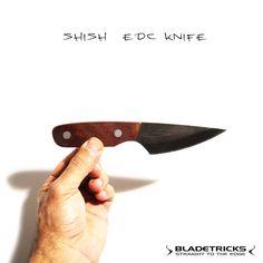 Bladetricks custom EDC Shish knife #everydaycarry #knife #bushcraft