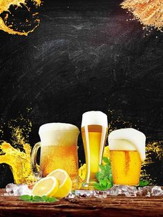 Poster Background Design, Background Images, Metal Wall Decor, Metal Wall Art, Beer Birthday Party, Happy Birthday Wallpaper, Beer Pictures, Tea Party Baby Shower, Food Wallpaper