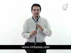 Curso de clarinete, ejercicios para clarinete