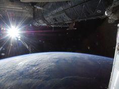 NASA - Sun Over Earths Horizon