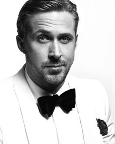 """"""" Ryan Gosling, winner of Best Actor in a Motion Picture - Musical or Comedy for 'La La Land', photographed by Mert Alas & Marcus Piggott for the 2017 Golden Globes Portraits """" James Mcavoy, Ryan Gosling, Golden Globe Award, Golden Globes, Black And White Portraits, Black White Photos, Black And White Photography, Lena Olin, Celebrity Photographers"""