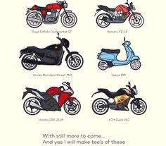 Bike illustrations Some more…Click here My Work - also check out my behance portfolio -behance.net/mikerodricks