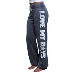 Dallas Cowboys Ladies Suzie Heathered Fleece Pants - Navy Blue I want this Nykole Dallas Cowboys Outfits, Dallas Cowboys Women, Cowboy Outfits, Dallas Cowboys Football, Pittsburgh Steelers, Cowboys 4, Indianapolis Colts, Cincinnati Reds, Cowboy Love
