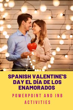 Students communicate in Spanish about what interests them most – love, boyfriends and girlfriends, using the vocabulary for Valentine's Day. Students move from recognition to production as they listen, read, write, and speak about love and el día de los enamorados. ALL FILES ARE EDITABLE. Digital versions are included for distance learning. Student Handout with 31 vocabulary words and 14 verbs. It's a great addition to high school Spanish lesson plans.