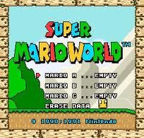 Super Mario World; On Snesfun.com  you can play almost every single old Nintendo game
