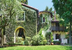 'Romantic Revivals'  1926 Spanish Colonial Revival home in the Bellehurst neighborhood. I love this style of house!!