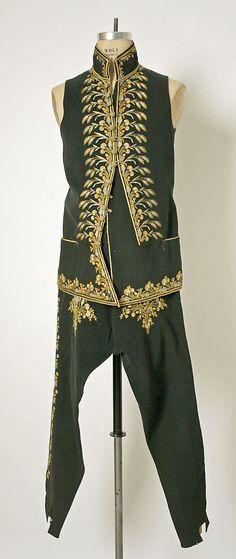 Ensemble Date: late 19th century Culture: Hungarian Medium: wool, silk
