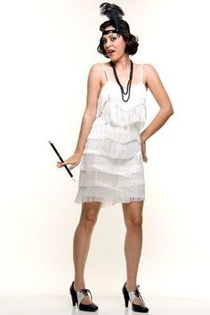 Make your own flapper dress and headband!   Awesome Craft Ideas ...