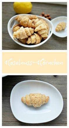 Das Rezept für Haselnuss-Hörnchen beeindruckt durch eine tolle Optik und super Geschmack - Mein kleiner Foodblog