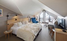 Hotel des Trois Vallees, Courchevel, France / By French interior architect Gilles Leborgne