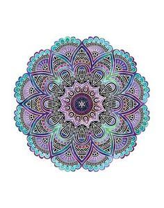 Mandala Print Más