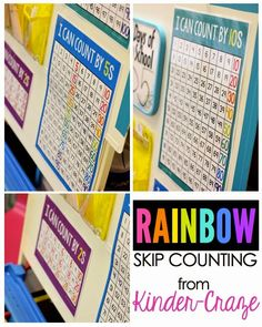 A Rainbow of Skip Counting Fun in Kindergarten