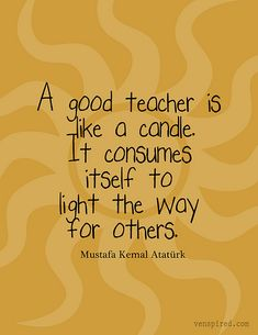 light the way for others