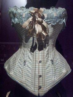 Victorian corset, at Barcelona Design Museum