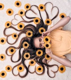 Artist Arranges Amazing Photo Shoots That Show-Off The Beauty Of Her Hair – Photography, Landscape photography, Photography tips