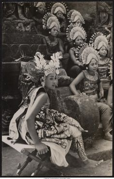 Dancers from Bali, Indonesia 1936