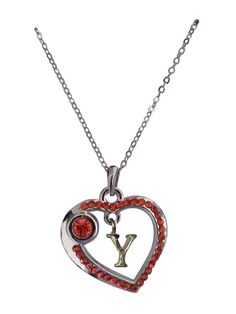 Love Collection Necklace- Red- Y item# 31449