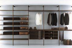 Porro presenta Storage, la nuova cabina armadio liberamente attrezzabile